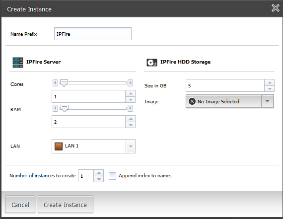 Create a Composite Instance in your data center