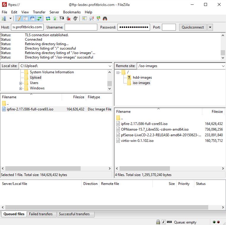 Install IPFire Linux Firewall | IONOS DevOps Central