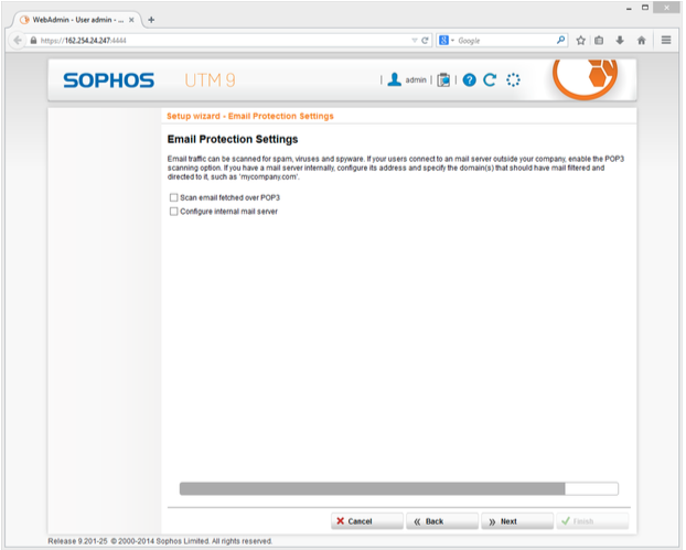 Install and Configure Sophos UTM | IONOS DevOps Central