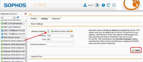 Publish Websites with Sophos UTM Webserver Protection | IONOS DevOps