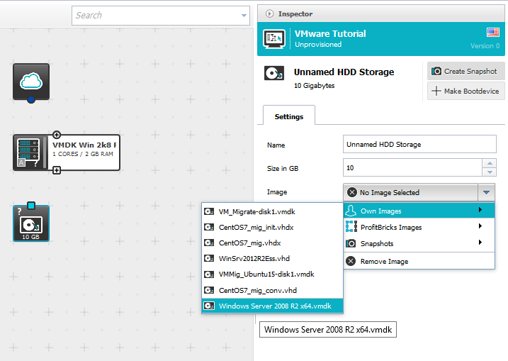Migrate a VMware Virtual Machine Running Windows to ProfitBricks